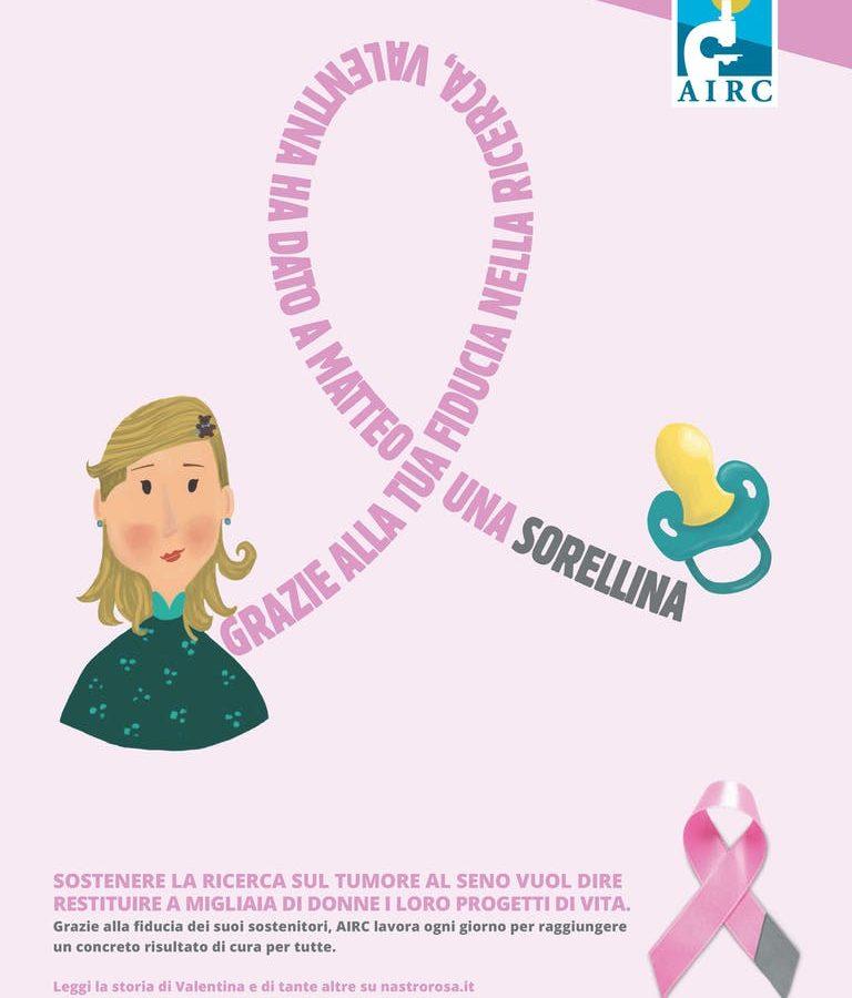 Campagna Nastro Rosa della Fondazione AIRC